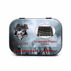 Pack 10 Tri-Twisted Clapton - Demon Killer