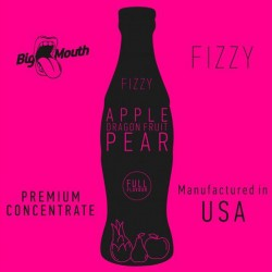 Apple Dragonfruit Pear Fizzy concentré - Big Mouth