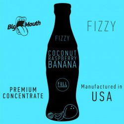 Coconut Raspberry Banana Fizzy concentré - Big Mouth
