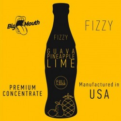 Guava Pineapple Lime Fizzy concentré - Big Mouth