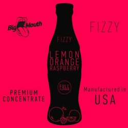 Lemon Orange Raspberry Fizzy concentré - Big Mouth
