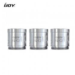 3 Résistances Chip Coil XL C2 / C4 - Ijoy