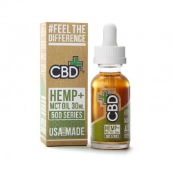 CBD Hemp MCT 500mg - Vape Additive
