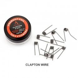 Pack 10 Clapton Coils 0,85Ω - Rofvape