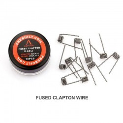 Pack 10 Fused Clapton Coils 0,45Ω - Rofvape