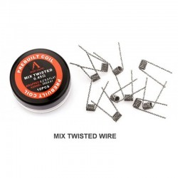 Pack 10 Mix Twisted Coils 0,45Ω - Rofvape
