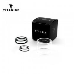 Tube Pyrex Leto RTA - Titanide