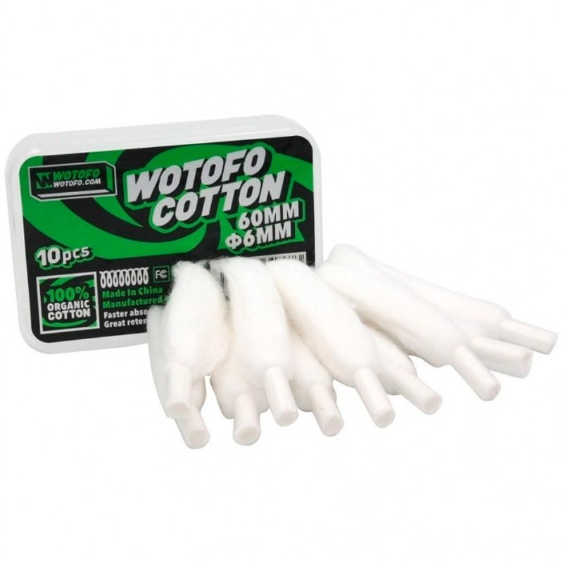 Αποτέλεσμα εικόνας για Wotofo Xfiber Cotton for Profile